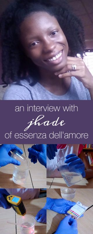 Maker Interview: Jhade of Essenza dell'amore