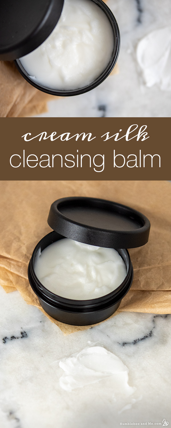 How to Make Cream Silk Cleansing Balm