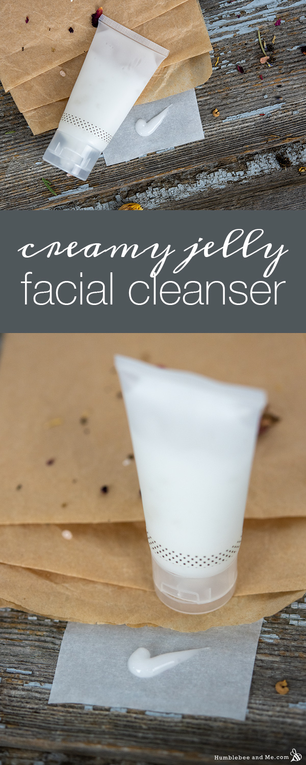 How to Make Creamy Jelly Facial Cleanser