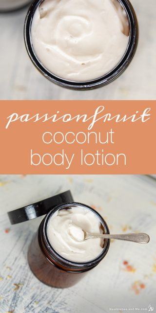 Passionfruit Coconut Conditioning Body Lotion + Hair Conditioner