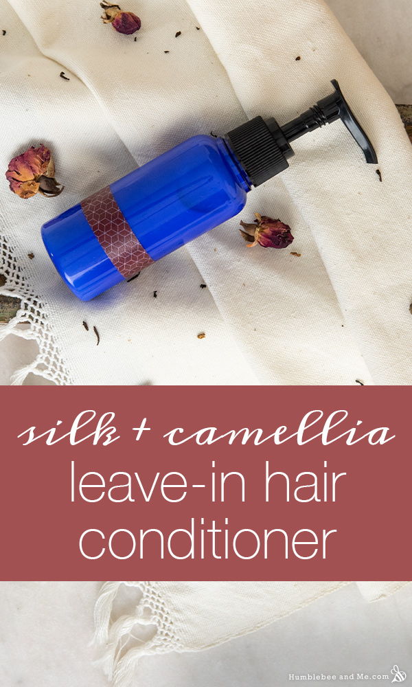 Silk & Camellia Seed Leave-In Hair Conditioner