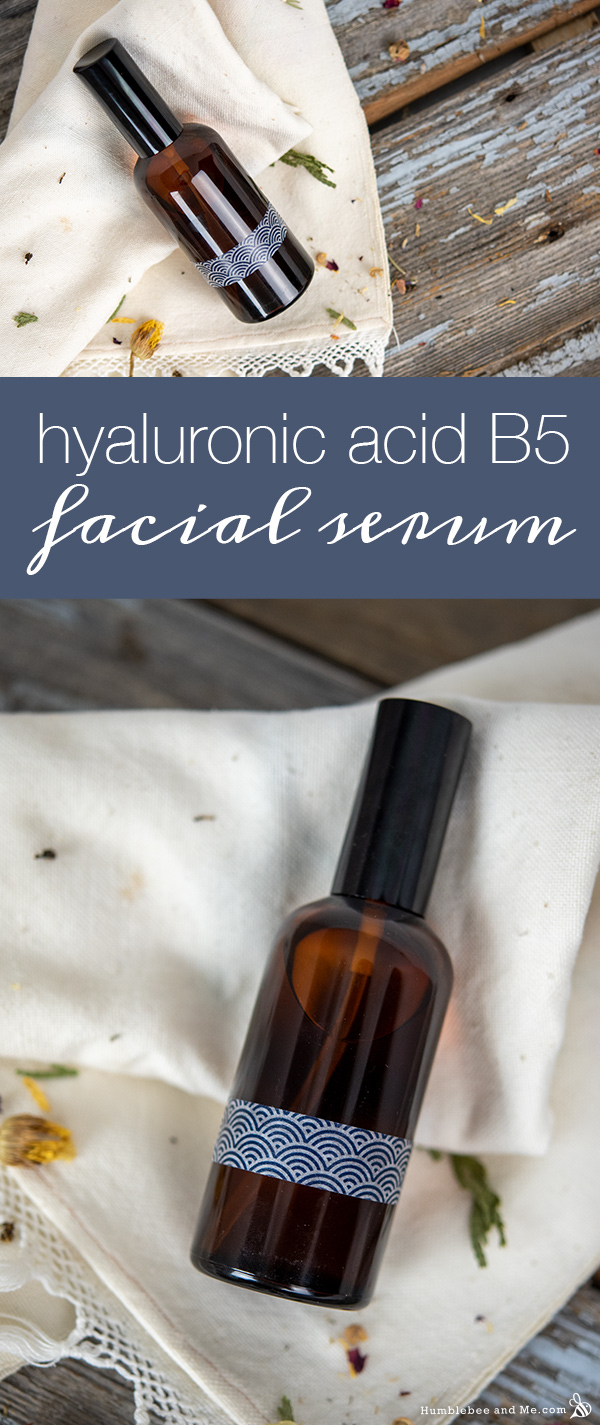 How to Make Hyaluronic Acid B5 Facial Serum