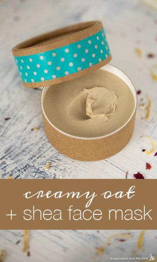 Creamy Oat & Shea Face Mask