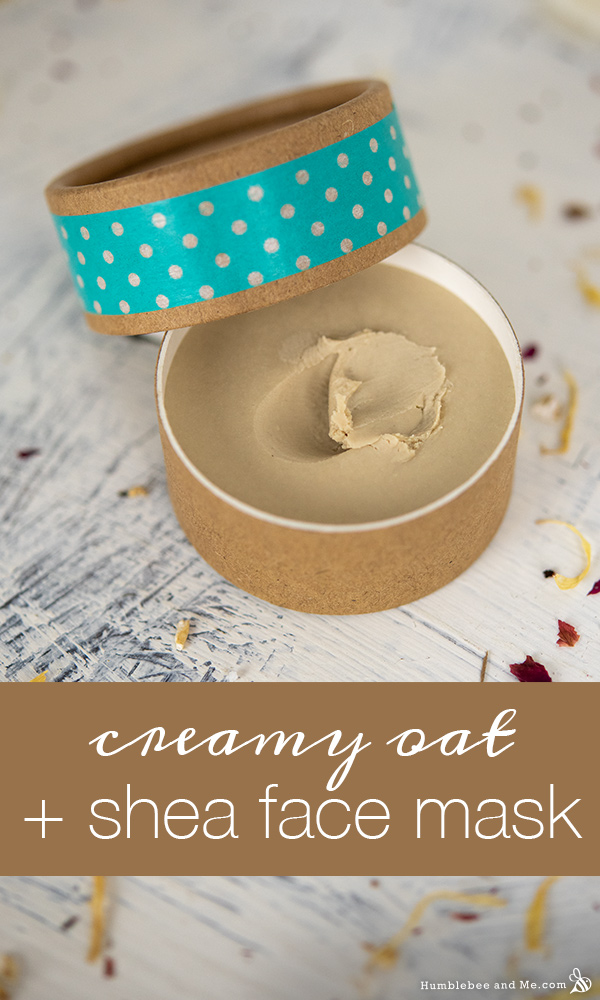 How to Make Creamy Oat & Shea Face Mask