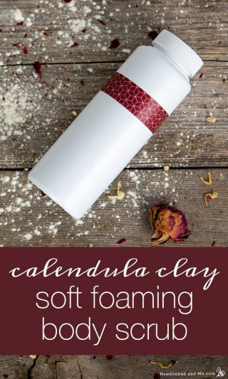 Calendula + Clay Soft Foaming Body Scrub