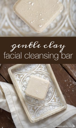 Gentle Clay Facial Cleansing Bar