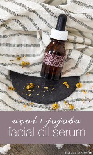 Açaí & Jojoba Facial Oil Serum