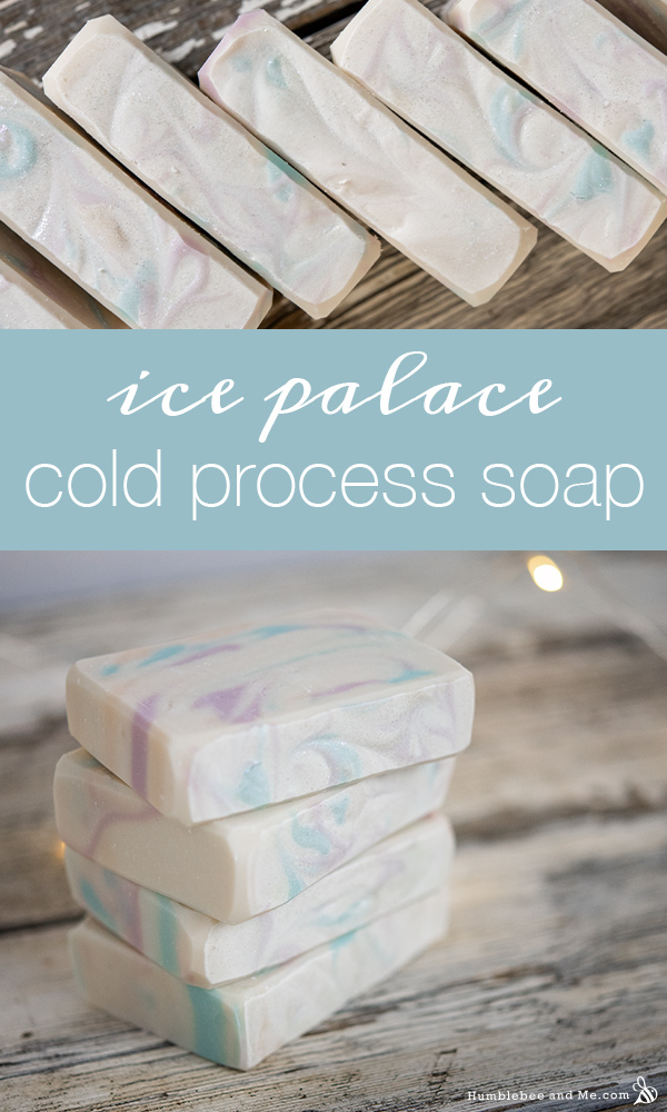 How to Make Ice Palace Soap