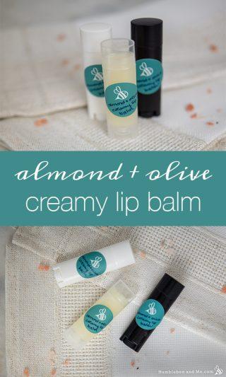 Almond & Olive Creamy Lip Balm