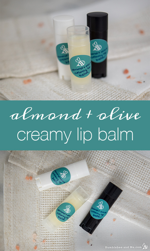 How to Make Almond & Olive Creamy Lip Balm