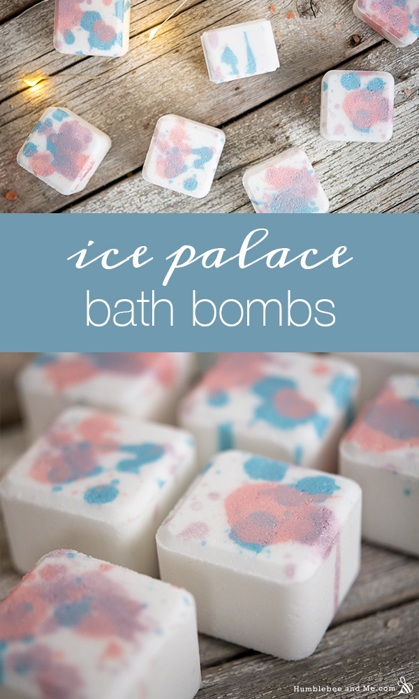 How to Make Ice Palace Bath Bombs