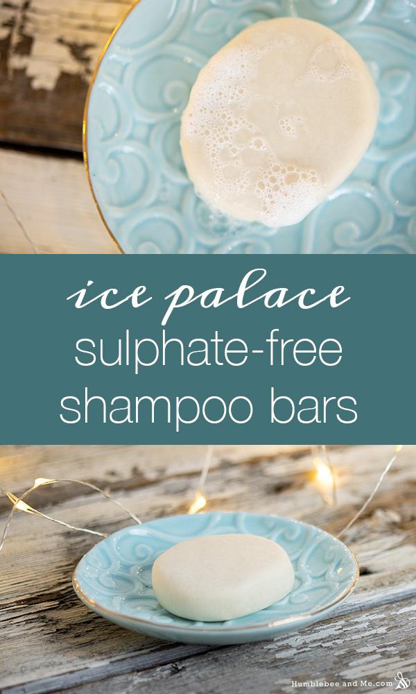 How to Make Ice Palace Sulfate-Free Shampoo Bar