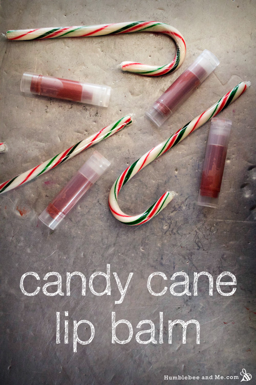 How to make Candy Cane Lip Balm