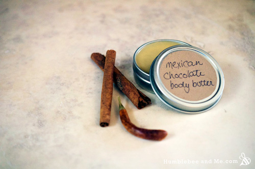 How to Make Mexican Chocolate Body Butter