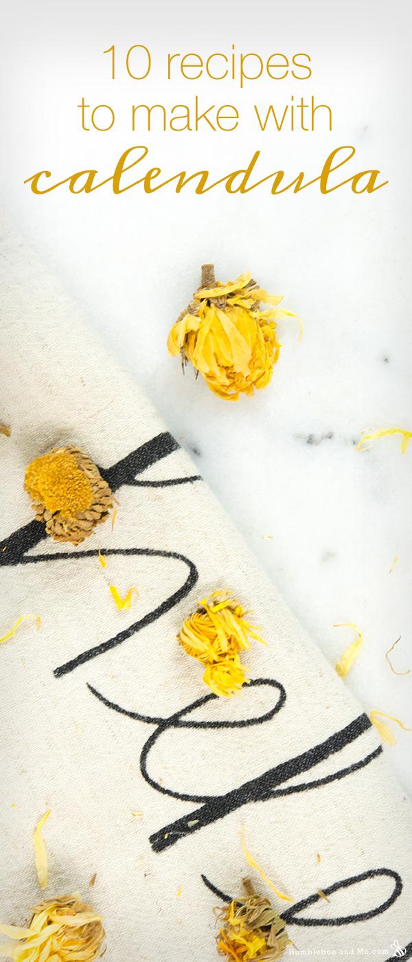 10 Recipes to Make with Calendula