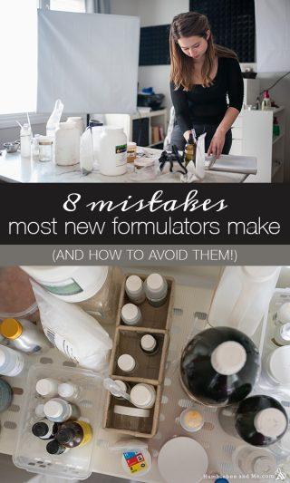 8 mistakes most new formulators make