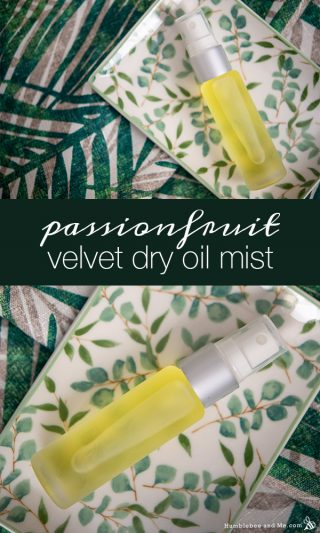 Passionfruit Velvet Dry Oil Mist