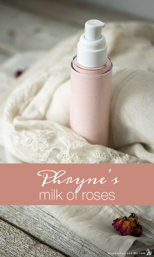How to Make Phryne's Milk of Roses