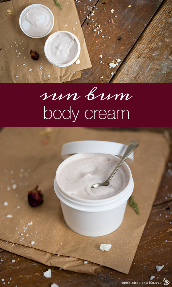 How to Make Sun Bum Body Cream