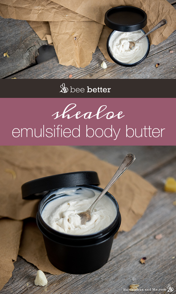 How to Make Shealoe Emulsified Body Butter
