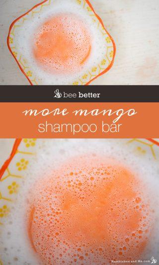 More Mango Sulfate-Free Shampoo Bar