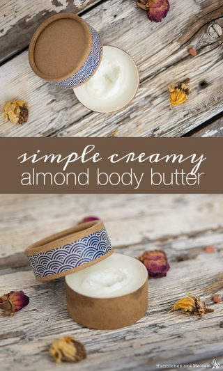 Simple Creamy Almond Body Butter