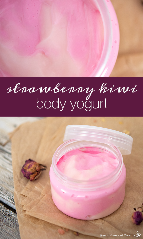 How to Make Strawberry Kiwi Body Yogurt