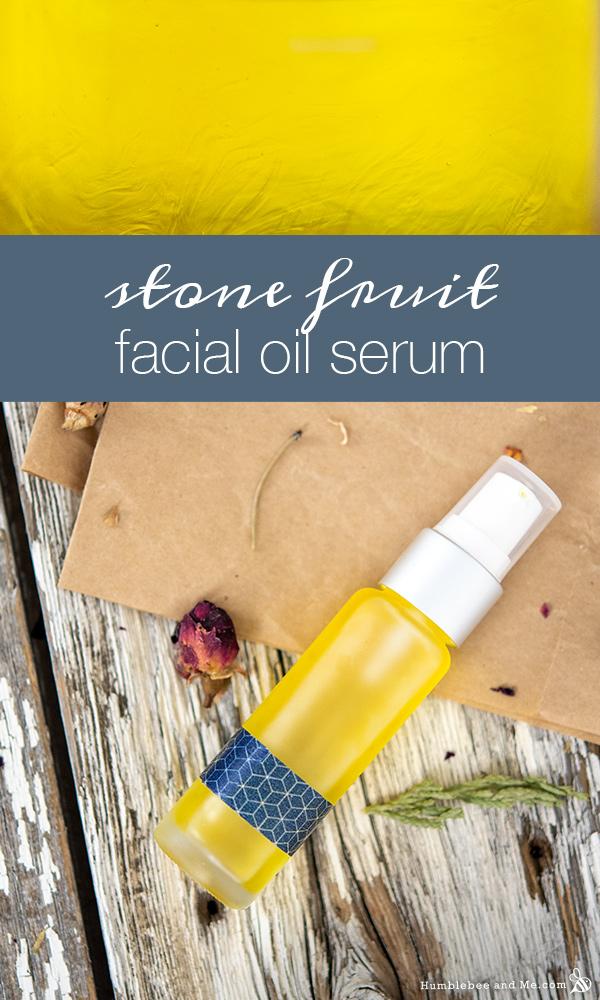 How to Make Summer Stone Fruit Facial Oil Serum