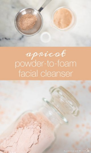 Apricot Powder-to-Foam Facial Cleanser