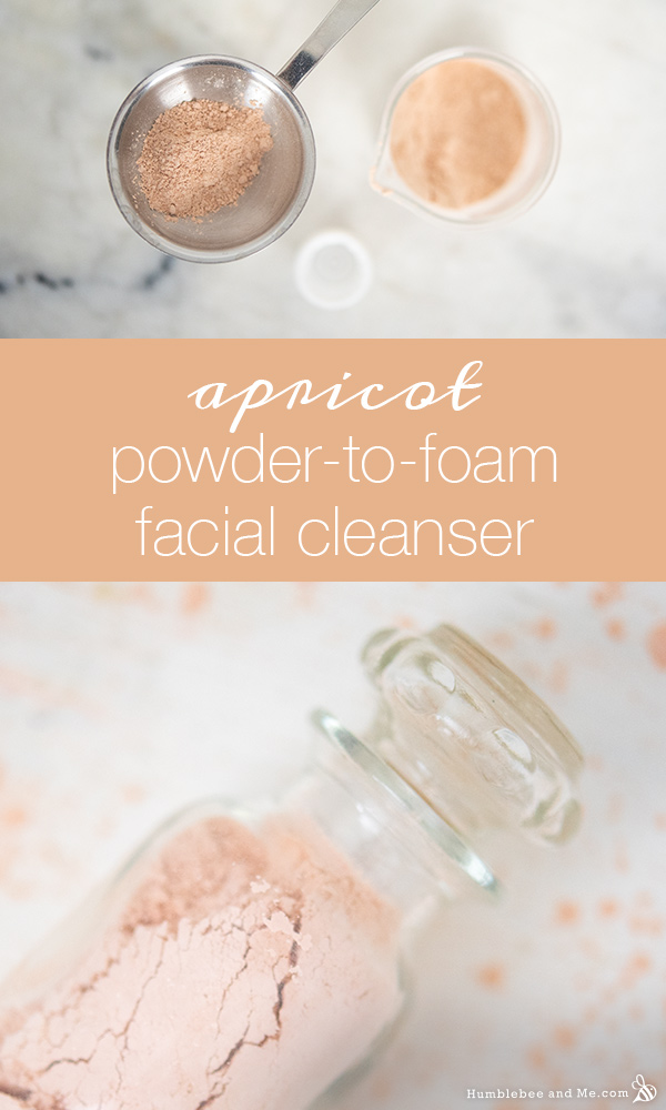 How to Make Apricot Powder-to-Foam Facial Cleanser