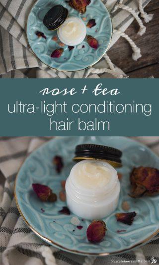 Rose & Tea Ultra-Light Conditioning Hair Balm
