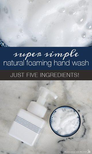 Super Simple Natural Foaming Hand Wash
