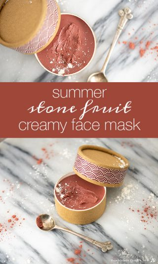 Summer Stone Fruit Creamy Face Mask