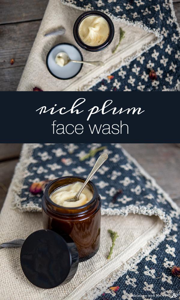 How to Make Rich Plum Face Wash