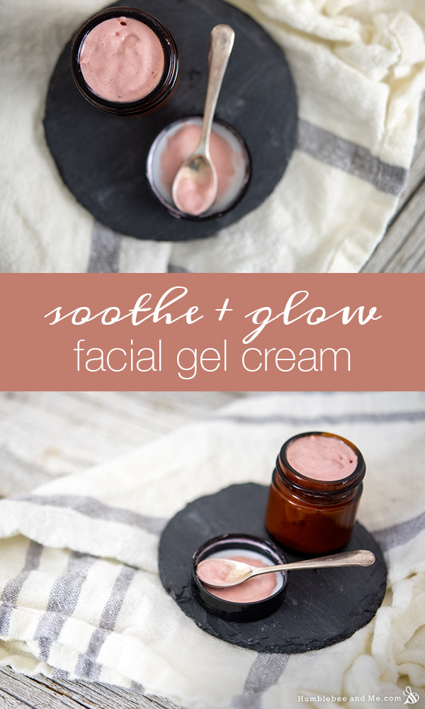 How to Make Soothe and Glow Facial Gel Cream