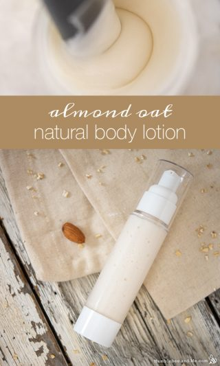 Almond Oat Natural Body Lotion