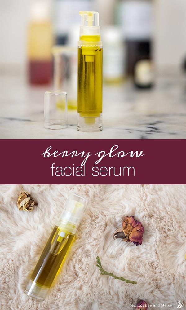 How to Make Berry Glow Facial Serum
