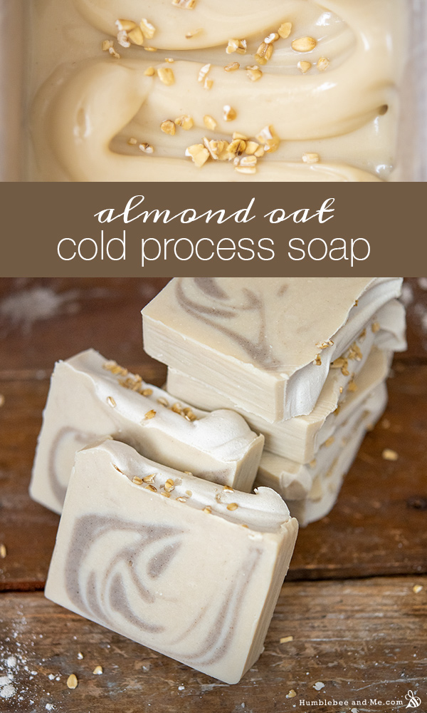 How to Make Almond Oat Soap