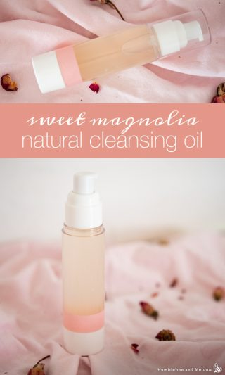 Sweet Magnolia Natural Cleansing Oil