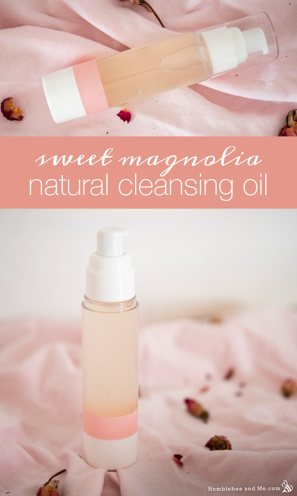 How to Make Sweet Magnolia Natural Cleansing Oil