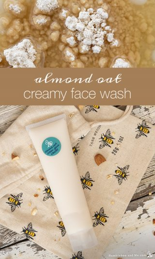 Almond Oat Creamy Conditioning Face Wash