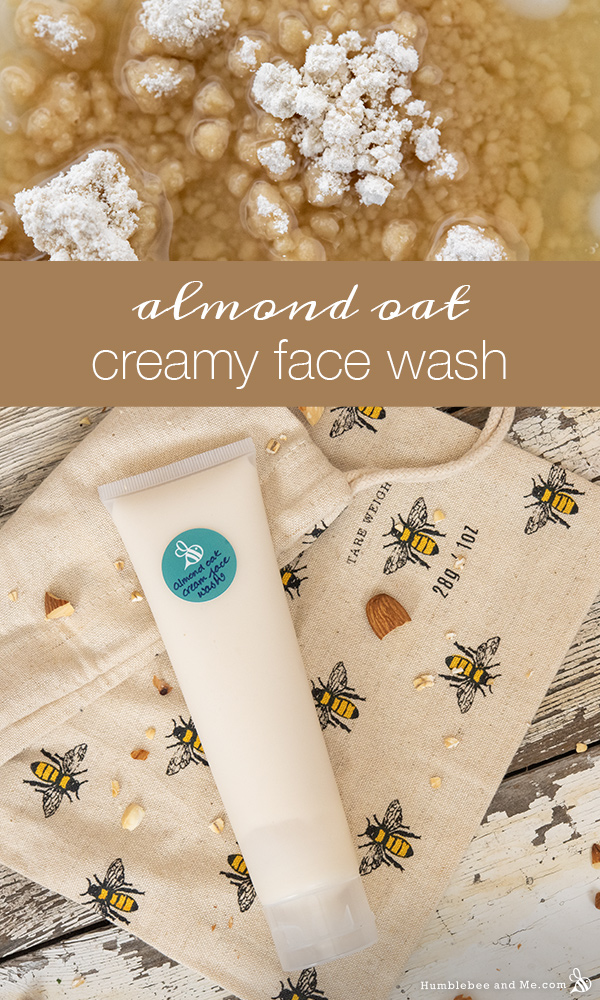 How to Make Almond Oat Creamy Conditioning Face Wash