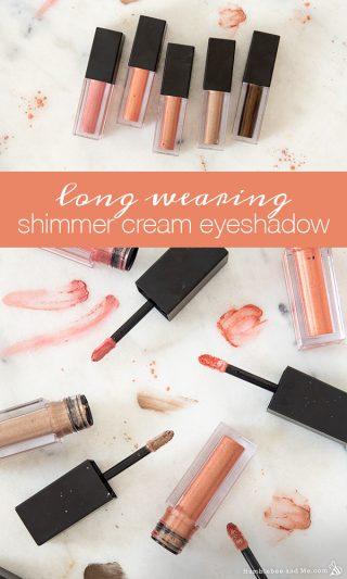 Long-Wearing Shimmer Cream Eyeshadow