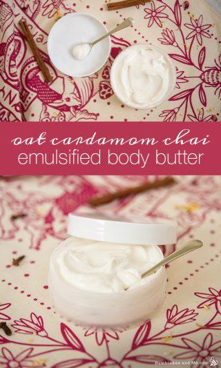 Oat Cardamom Chai Emulsified Body Butter