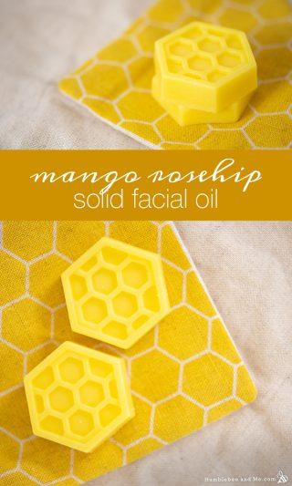 Mango Rosehip Solid Facial Oil