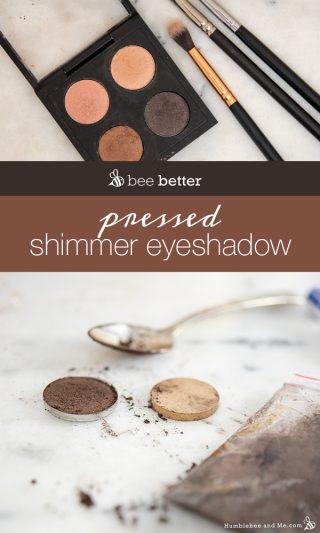 DIY Pressed Shimmer Eyeshadow