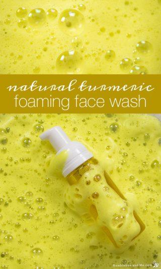Natural Turmeric Foaming Face Wash