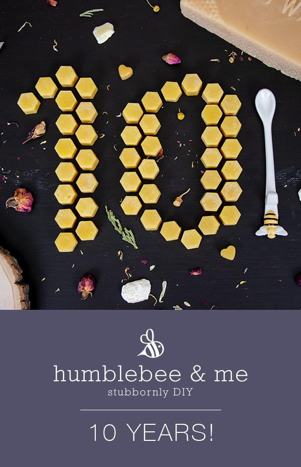 Humblebee & Me is 10!