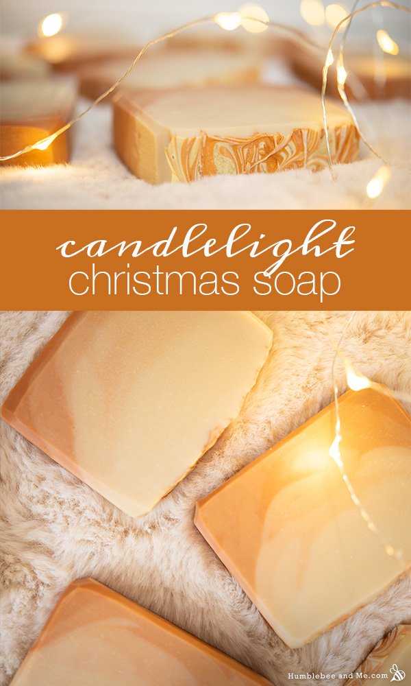 How to Make Candlelight Christmas Soap