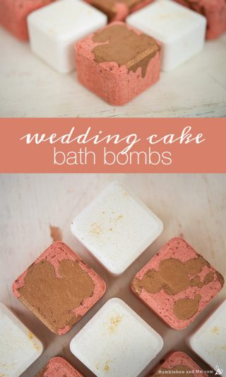 Wedding Cake Bath Bombs